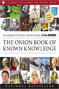 The Onion Book of Known Knowledge: A Definitive Encyclopaedia Of Existing Information Review